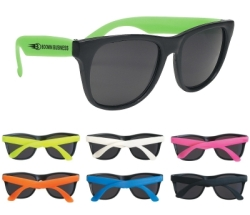 Throwback Sunglasses with Color Choices