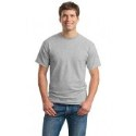 Model in Ash Grey Tshirt