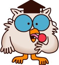 Tootsie Roll Cartoon Owl