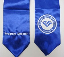Carlington College Custom Embroidered Stole