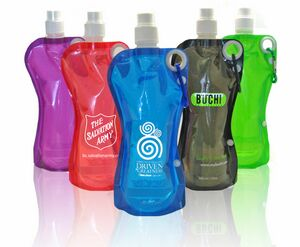 Sip N' Go Foldable Water Bottle