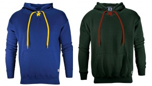 Blue and Black Sweatshirts
