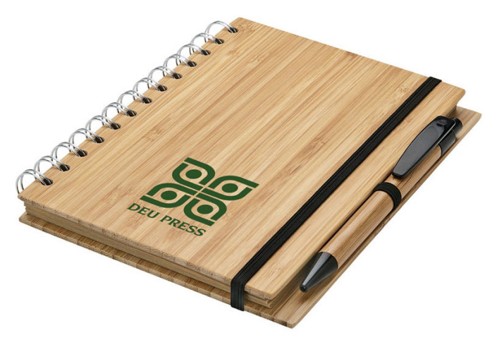 Deu Press Bamboo Notebook Sample