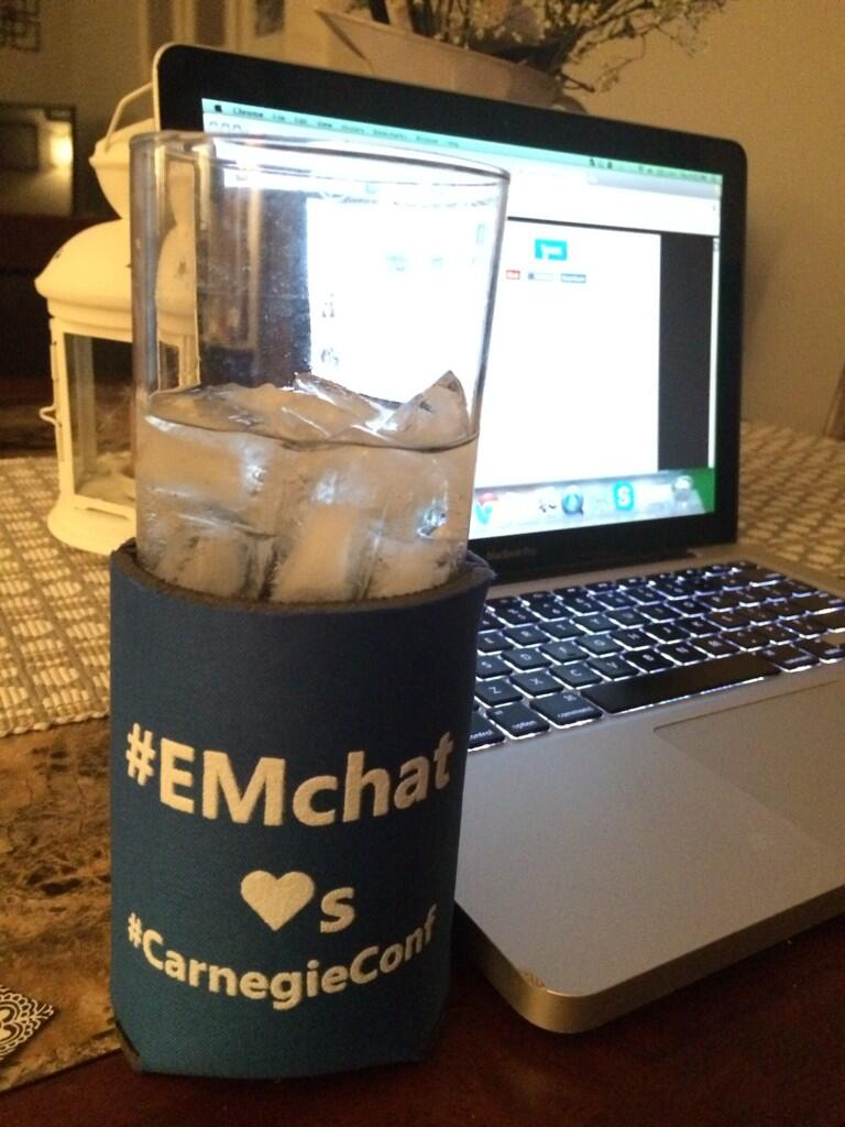 beverage koozie for #EMchat