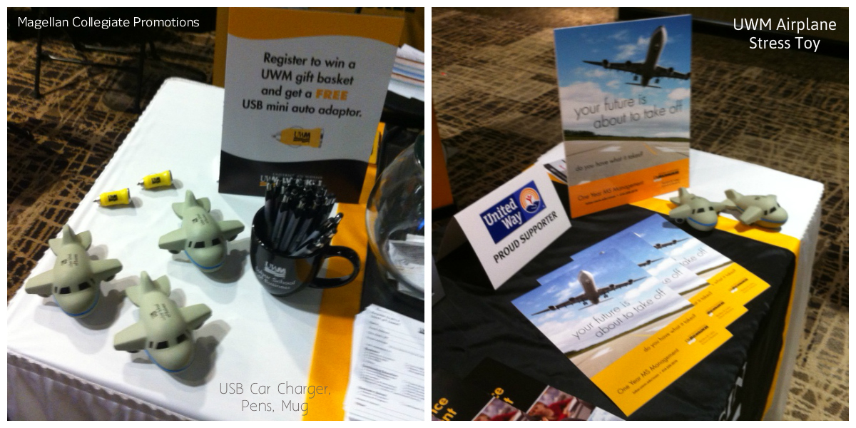 Promotional Marketing for UWM at BizTimes Expo