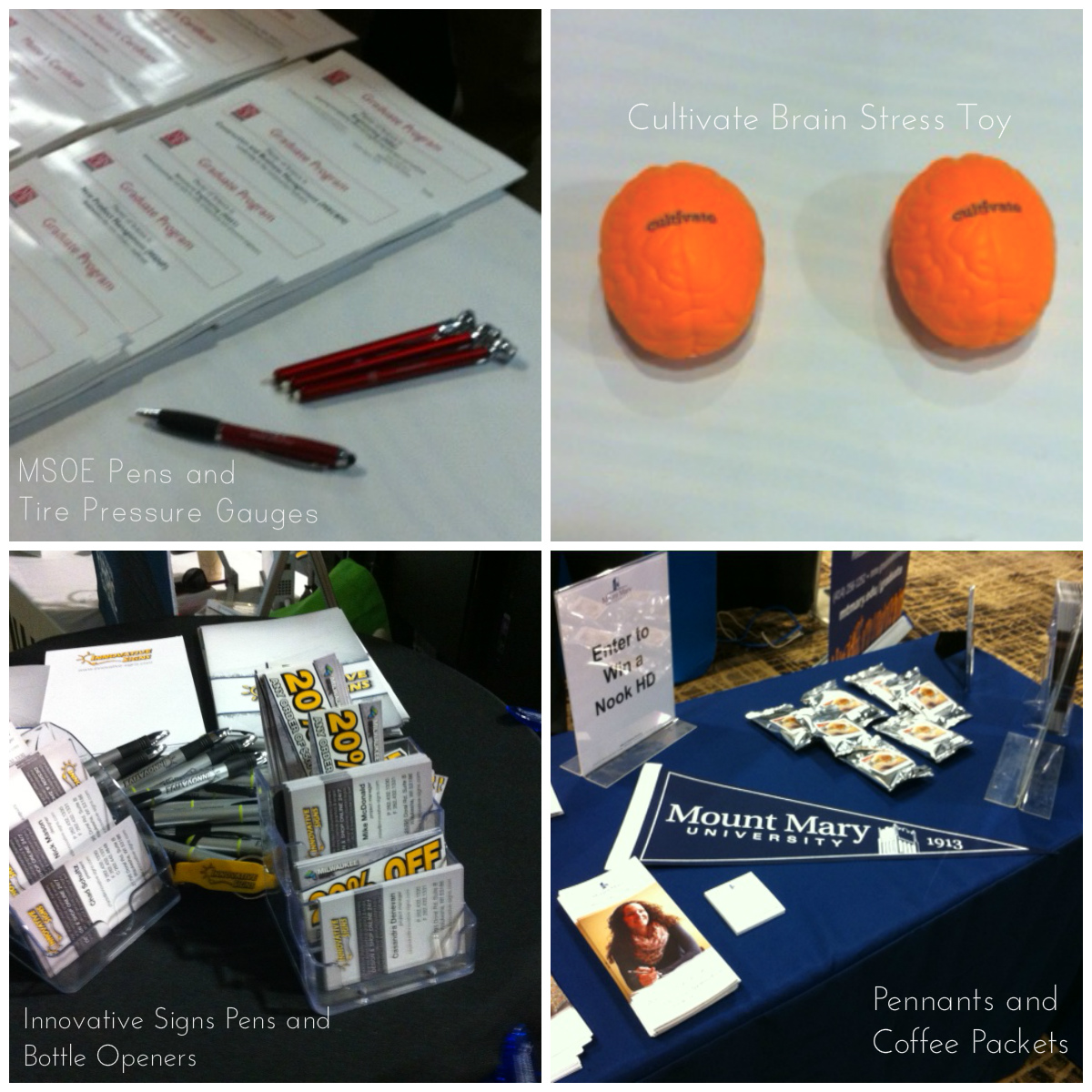 Promotional Products at work at BizTimes Expo 2014