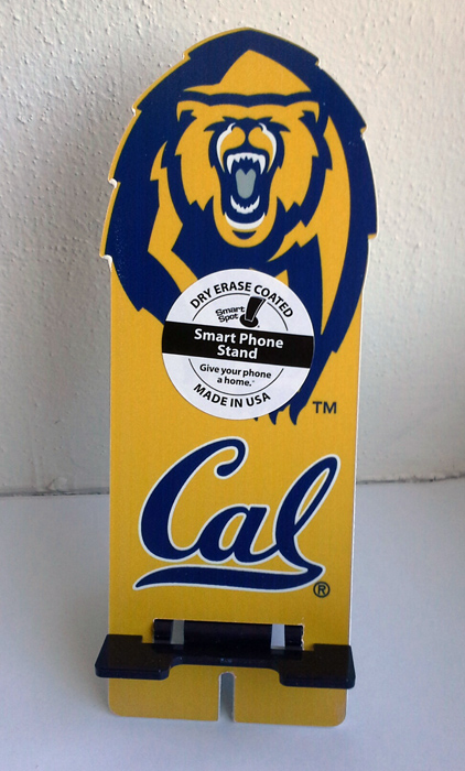 Collegiate Mascot on Phone Stand