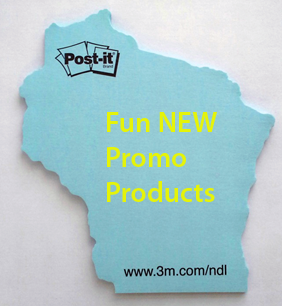 fun custom shaped post it notes