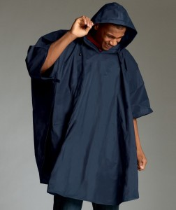 rain poncho for campus visitors