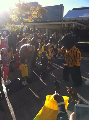 Fun with Pounce at UWM's Panther Prowl