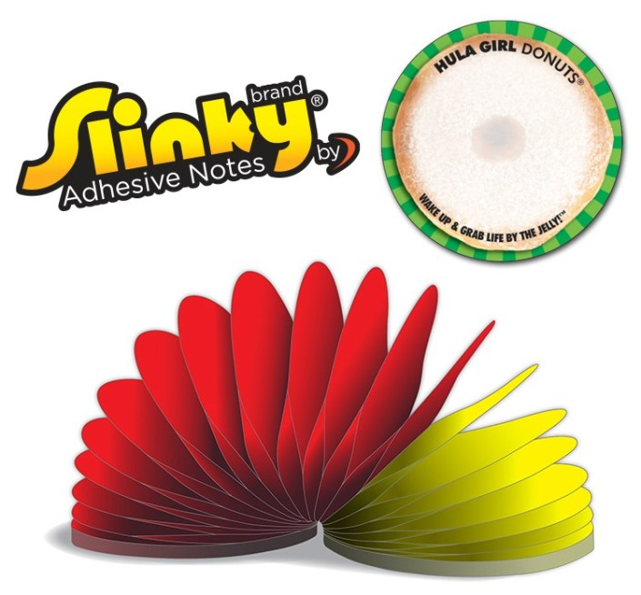 Slinky Post-it Style Notes
