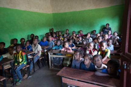 Roots Ethiopia classroom visit