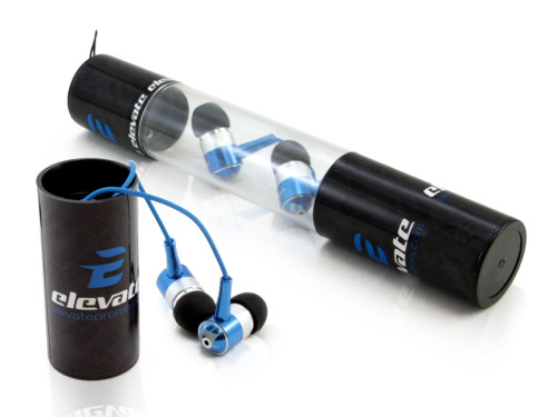 ear buds packaged in a tube