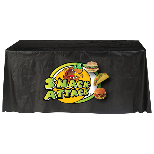 disposable 6 ft table cover