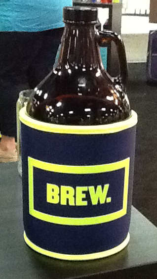 Growler Koozie sample