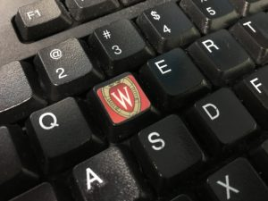 UW Keyboard Sticker
