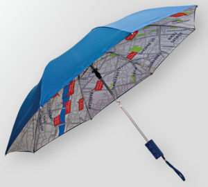 A Custom Full Color Umbrella