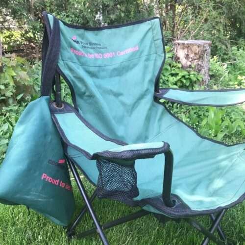 Rachel's lawn chair